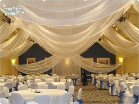 wedding reception draping w drapings florida ceiling drapings and wedding chiffon