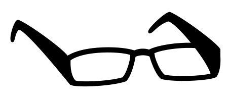 drawing cartoon sunglasses