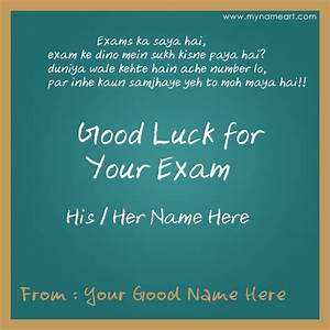 Good Luck In Your Exams Exam Wishes Pinterest Good Luck