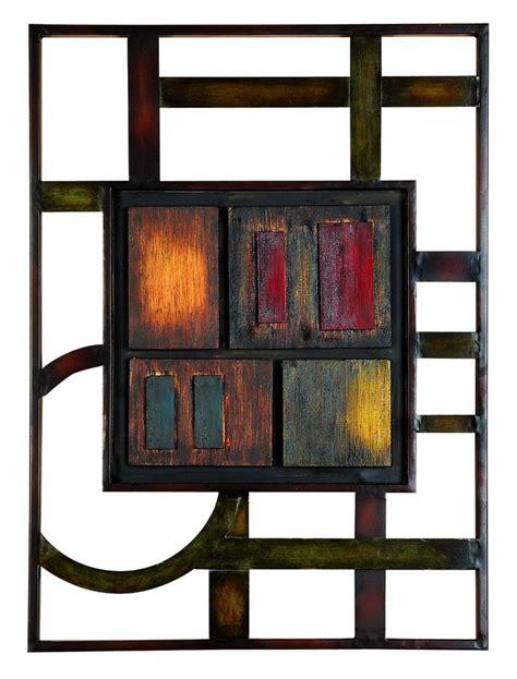 metal wall art brown modern abstract plaque kitchen accent decor patio sculpture ebay