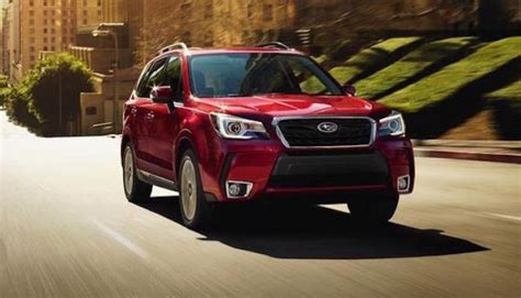 subaru forester red 2018 new subaru ascent takes spotlight aging forester is red