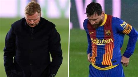 Not just another final: Koeman and Messi's futures on the ...