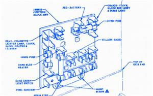 Chevrolet Bel Kick Pad 1958 Fuse Box  Block Circuit Breaker