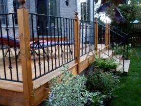 Iron Deck Railing Ideas
