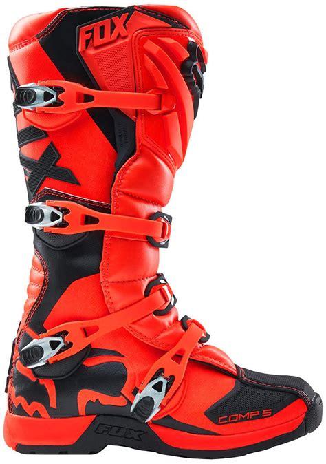 motocross boots size 5 fox comp 5 2016 mx kids