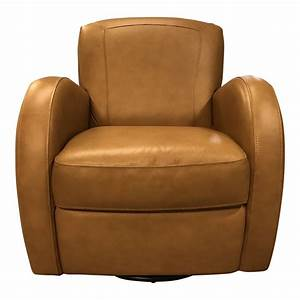Contemporary, Swivel, Leather, Arm, Chair