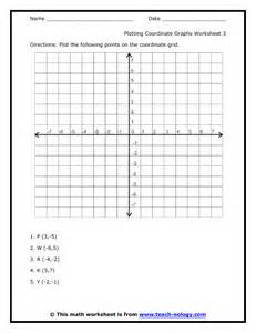 Graphing Coordinate Points Worksheets Free