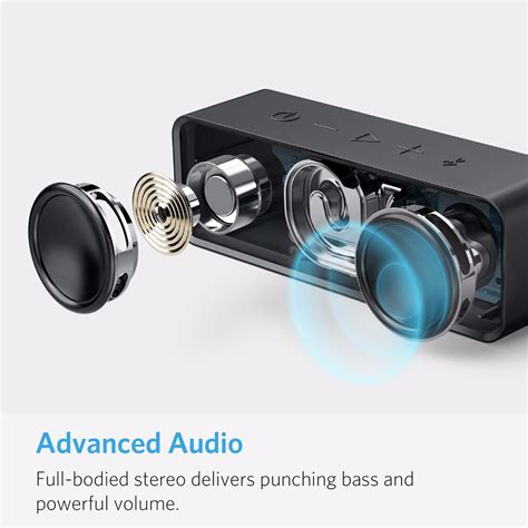 Anker Drivers by Anker Soundcore Portable Wireless Bluetooth Speaker With
