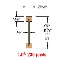 Tji Floor Joist Depths by Products Catalog