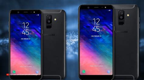 samsung a6 samsung galaxy a6 and a6 plus specs features