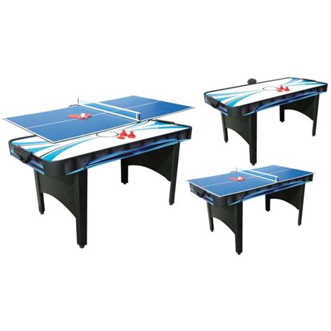 air hockey table game typhoon 2 in 1 air hockey table tennis table liberty games