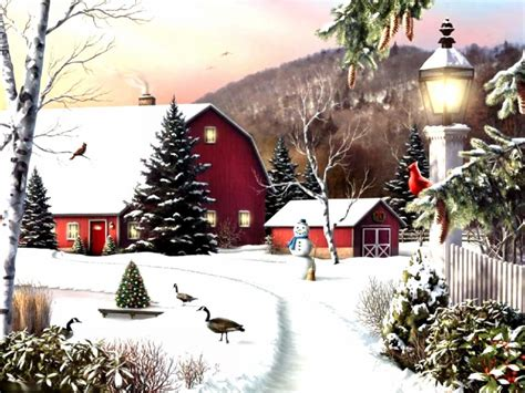 led lights  shipping christmas wall art canvas print