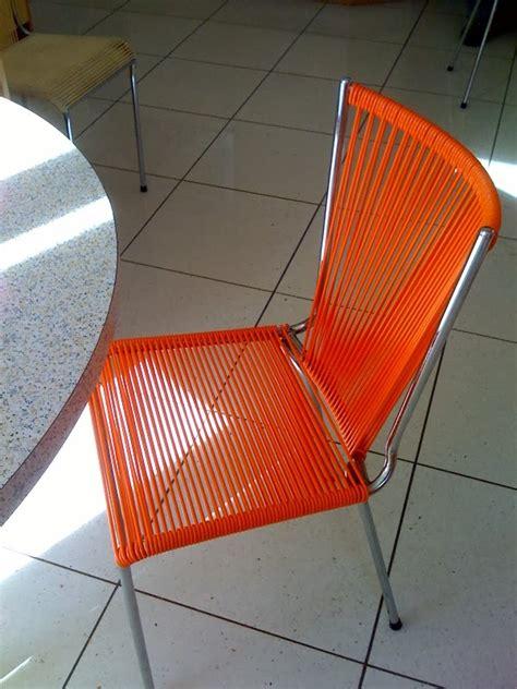 mobilier scoubidou r 233 novation de chaise scoubidou