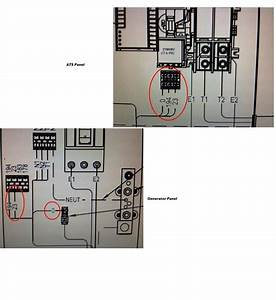 How Connect Wiring Contol From Generator Generac 22kw To Ats Tb2 Ats  N1 Generator   N1 N2 N2 T1