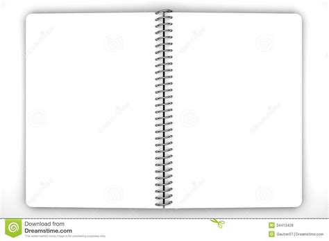 notebook blank royalty  stock  image
