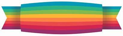Ribbon Banner Transparent Title Type