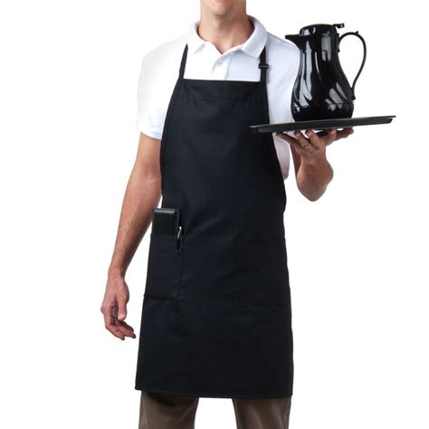 what is an apron f10 adjustable neck 3 pocket bib apron caluniforms