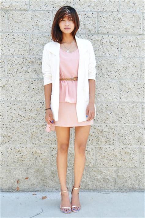 Cream Forever 21 Blazers Light Pink Choies Dresses Eggshell Zara Heels | u0026quot;A Little Bit of ...
