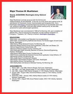 military bio template good resume format With military biography template