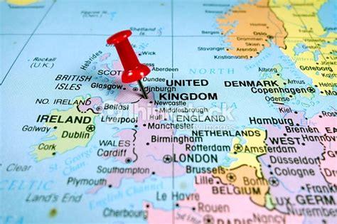 Carte Du Royaume Uni Sans Les Villes by Londres Avec Une Carte De Leurope Photo Thinkstock