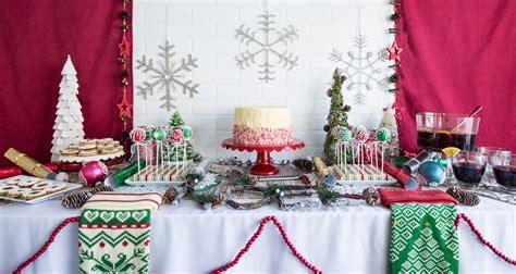 christmas dessert table discover