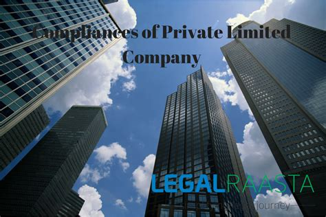 Compliances of Private Limited Company | Legal Raasta
