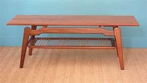 Table Basse Occasion : table scandinave occasion meuble de salon contemporain ~ Teatrodelosmanantiales.com Idées de Décoration