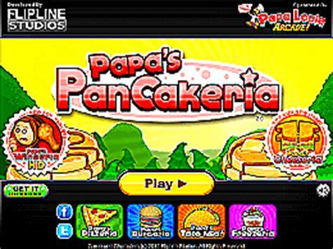 jeux de cuisine papa louie pancakeria papa s pancakeria un des jeux en ligne gratuit sur jeux jeu fr