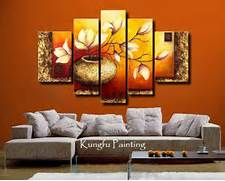 Living Room Canvas Art by Wall Art Decoration With Wallpapers Paintings And Stickers And Interior Deco