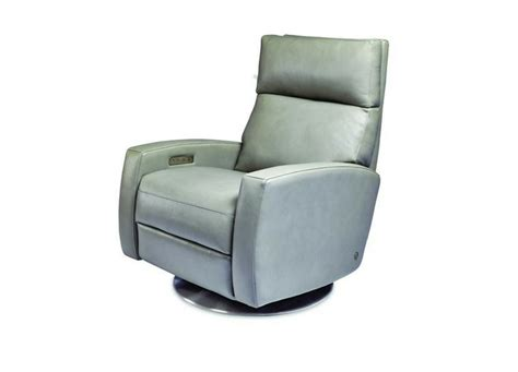 3 Chairs Arbor Mi by American Leather Elliot Comfort Recliner Swivel Base At
