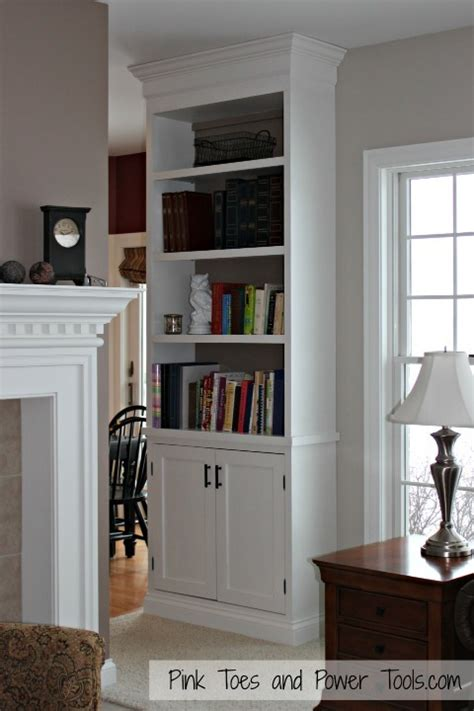 ana white built  cabinet  bookshelf diy projects