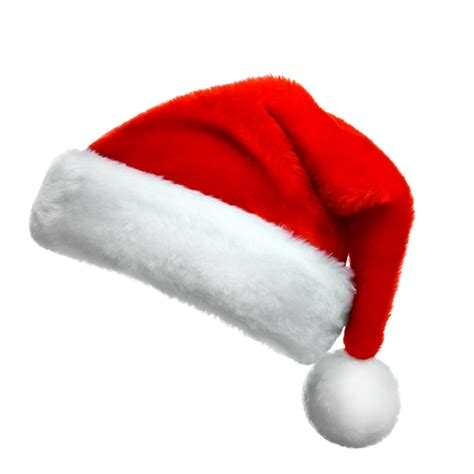 transparent red santa hat picture   searchpngcom