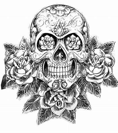 Coloring Dope Skull Worksheets Via