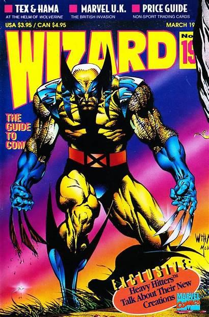 Wizard Magazine Marvel Issue 1993