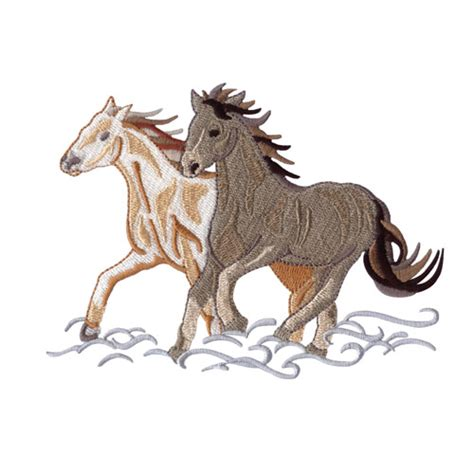 embroidery design horse embroidery origami