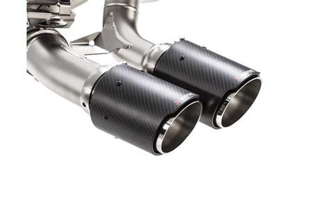 akrapovic evolution line titanium exhaust bmw m2 scuderia car parts