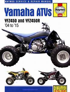 Yamaha Yfz450  Yfz450r Atv Repair Manual 2004