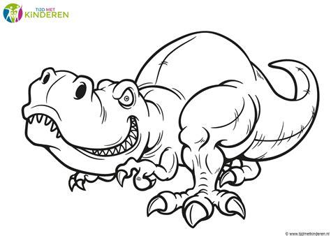 Kleurplaat Dinosaurussen by Kleurplaat Dinosaurus 54 Allerbeste Dinosaurus