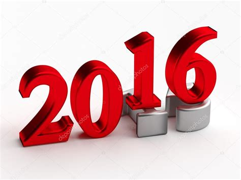 Pictures: new years 2015 3d numbers 2016 new year over
