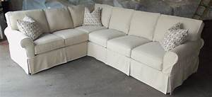 Slipcover sectional sofa easton slipcover sectional by for 3 piece sectional sofa with chaise slipcover