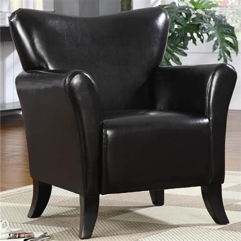 Modern Upholstered Living Room Chairs by Shop Contemporary Living Room Black Upholstered Accent