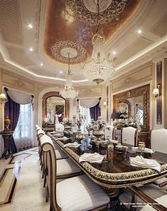 Luxury, Mansion, Interior, U0026quot, Qatar, U0026quot, On, Behance