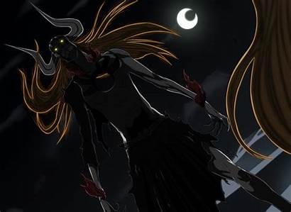 Ichigo Hollow Bleach Demon Anime Eyes Glowing