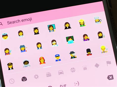 emoji for android that show up a vast majority of android users still don t the