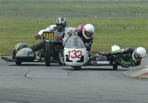 Vintage Motorcycle Sidecar Racing