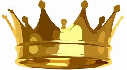 Crown Clip Royalty Clipart Vector Domain Clker