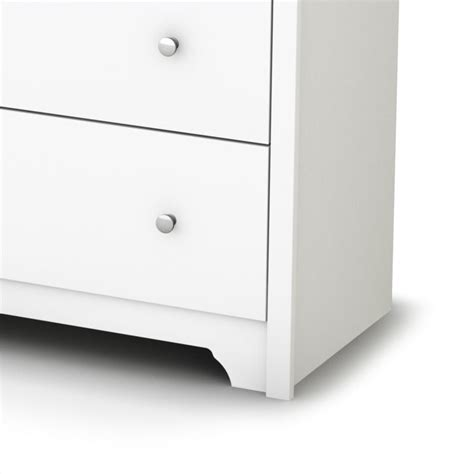 south shore breakwater 6 drawer double dresser in pure