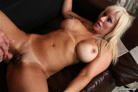 Breasty Cougar Drilled Tough