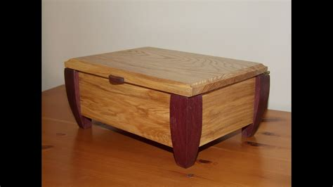 making  wooden jewellery box youtube