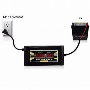 Charger Batterie Voiture : suoer son 1206d led intelligent affichage chargeur 6a 12v voiture batterie chargeur pour plomb ~ Medecine-chirurgie-esthetiques.com Avis de Voitures